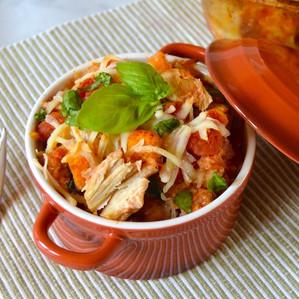 Chicken Bruschetta Casserole - Keystone Meats