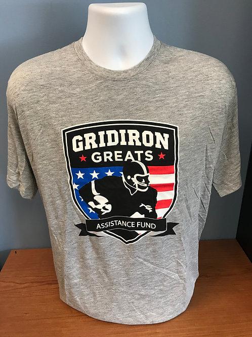 Gridiron Greats Grey Logo Shirt