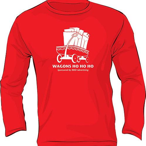 Red Wagons Long Sleeve Shirt