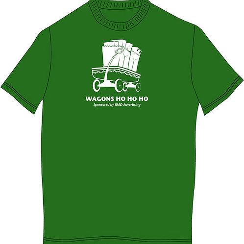 Green Wagons Ho Ho Ho Shirt