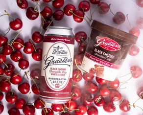 Graeter's Ice Cream & Braxton Brewing Launch Black Cherry Chocolate Chip White Stout