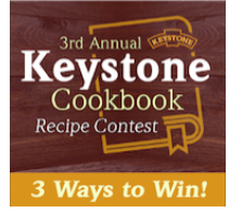 Vote for Your Favorite Keystone Cookbook Recipe for a Chance to Win