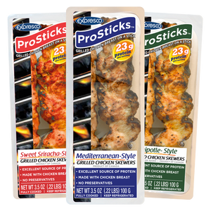 Expresco Foods Launches On-The-Go Chicken Skewers