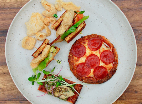 pork rind flat bread pizza dough