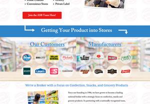 All-State Food Brokerage Website