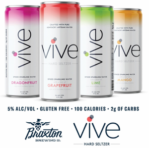Braxton Brewing Co. to Re(VIVE) Adult Beverages with Brewery's First Hard Seltzer