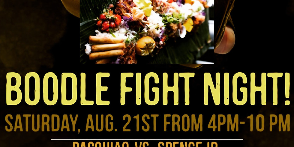 Come watch the Pacquiao fight with Lolo