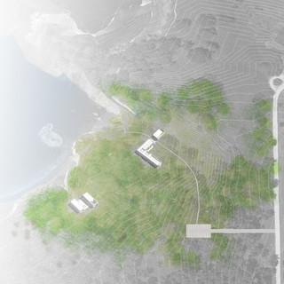 Concept Site Plan, Point Lobos CA