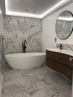 Luxury bathroom design by Property Refurbishment London