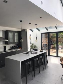 large kitchen bi folds