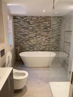 bathroom design by  Property Refurbishment London