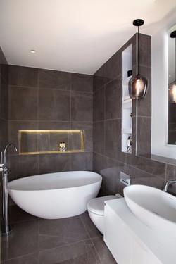 bathroom design and installation by Property Refurbishment London