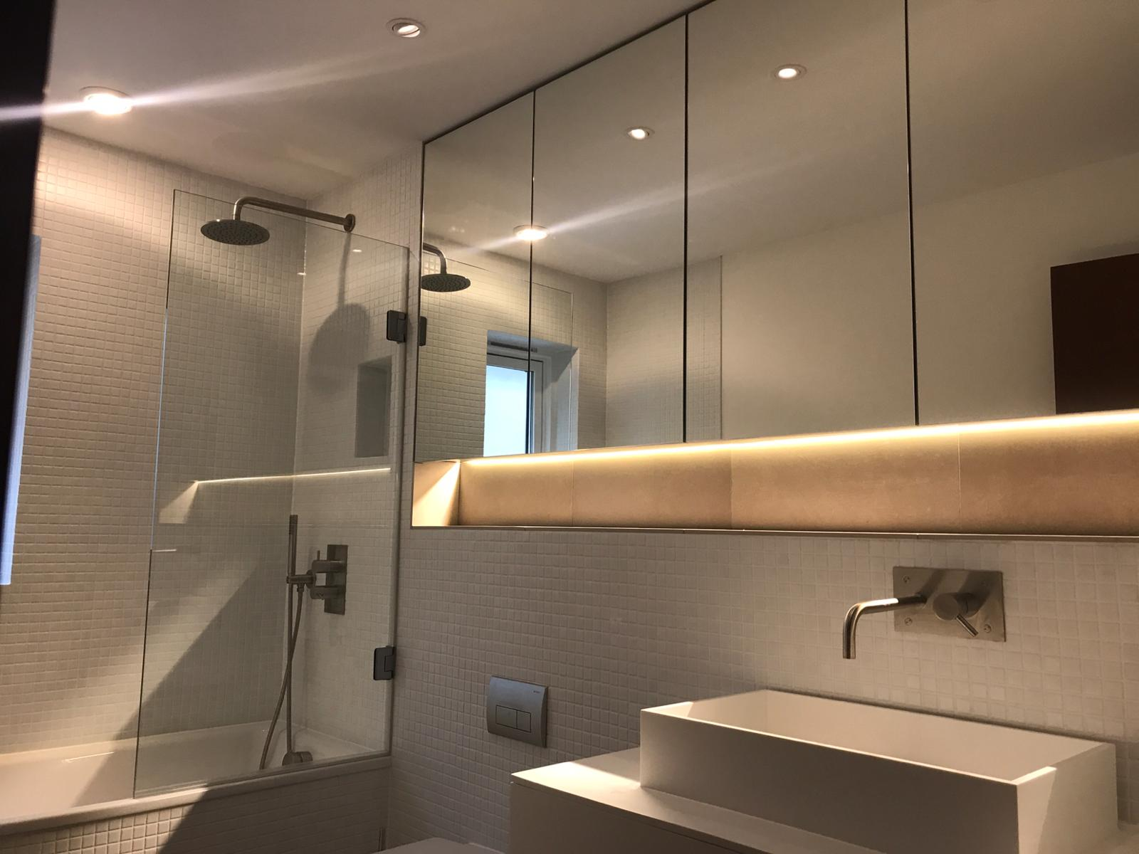 Modern bathroom fit out