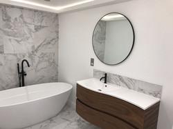 bathroom installation by Property Refurbishment London