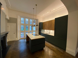Kitchen installation to Central London Property