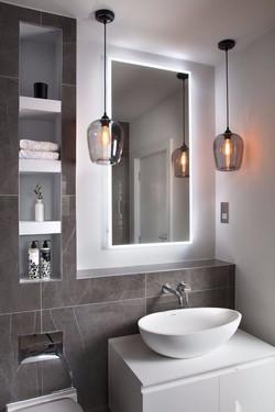 Modern bathroom Property Refurbishment London