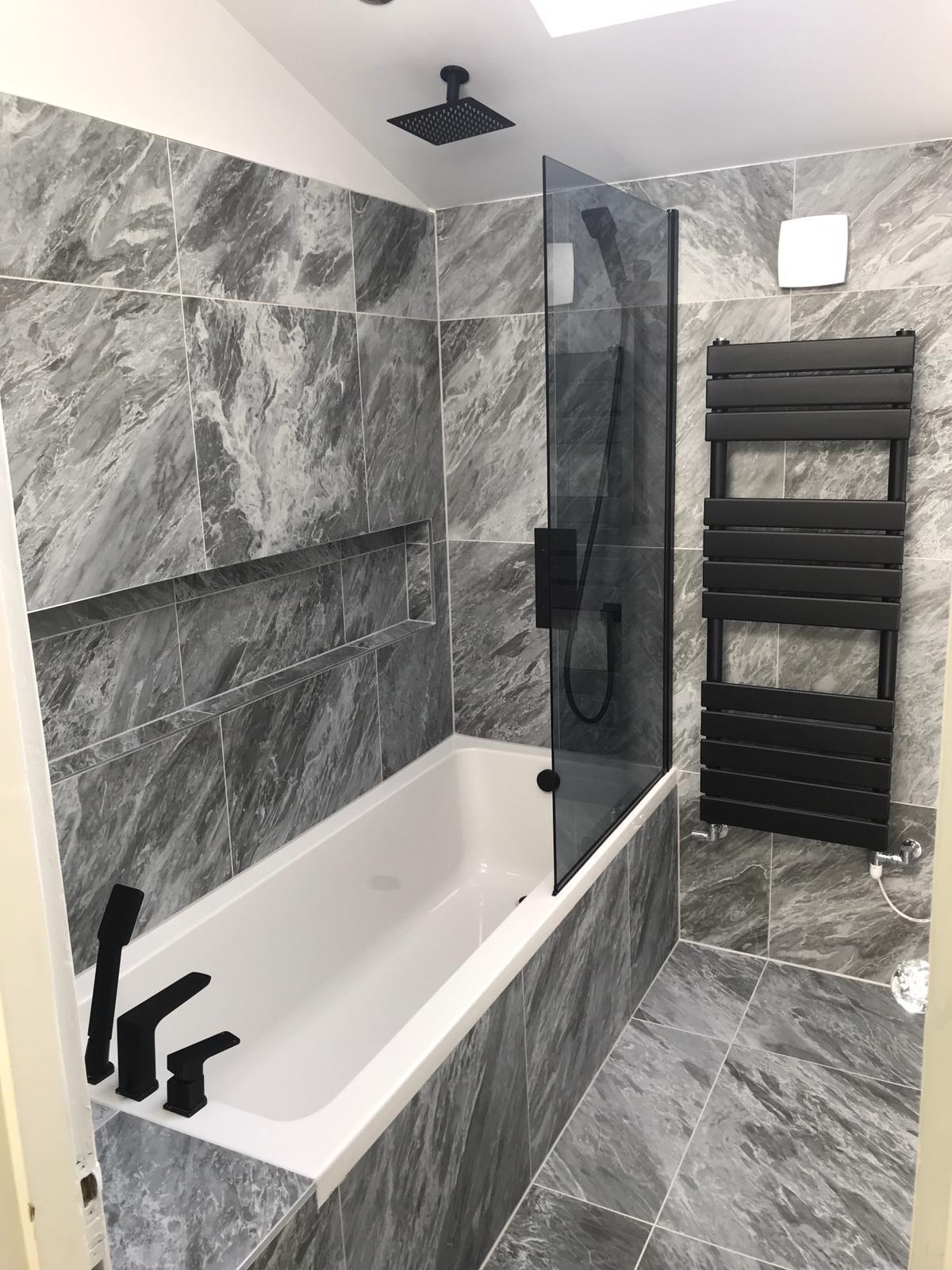 Complete bathroom redesign