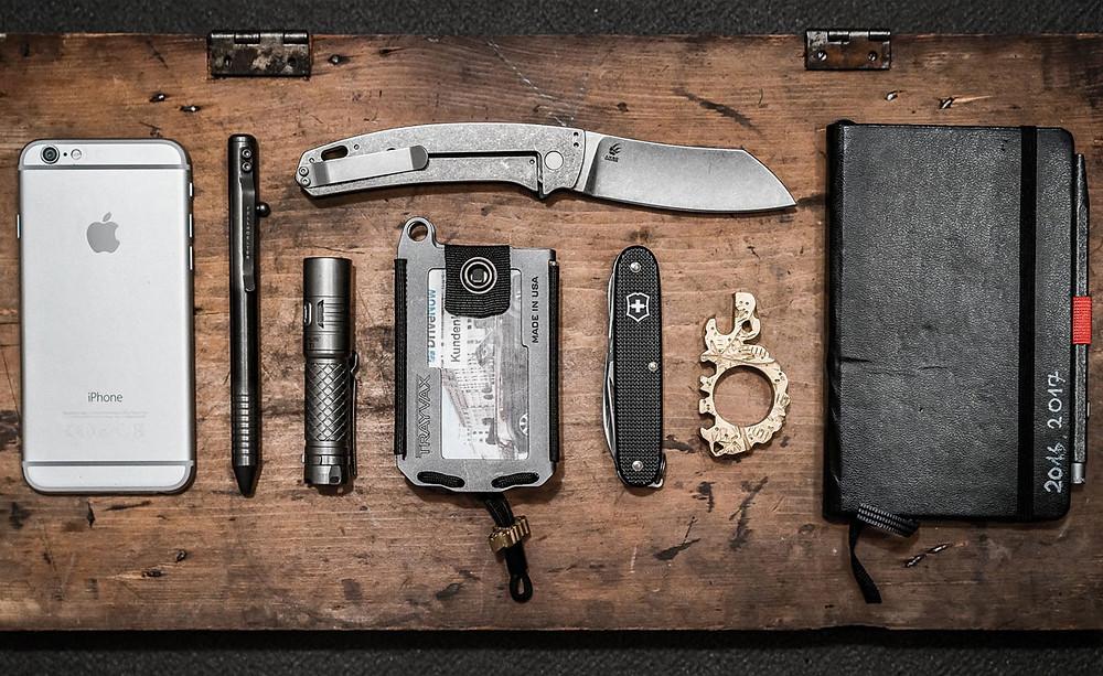 everyday carry para defensa personal