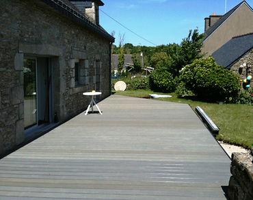 Realisations Terrasse Bois Et Composite A Lorient Vannes Auray