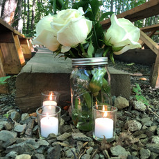 Ceremony Decor, Camp Manitou for Boys