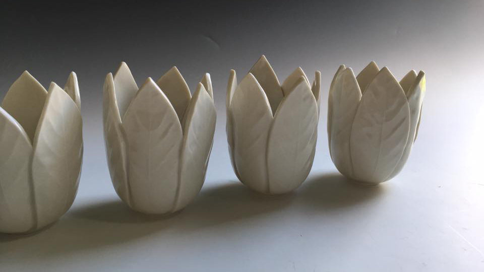 'Korembi' Leaf Light Vessels
