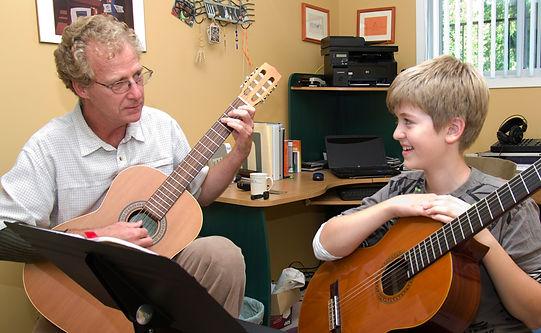 Kevin Love, classical guitar teacher.