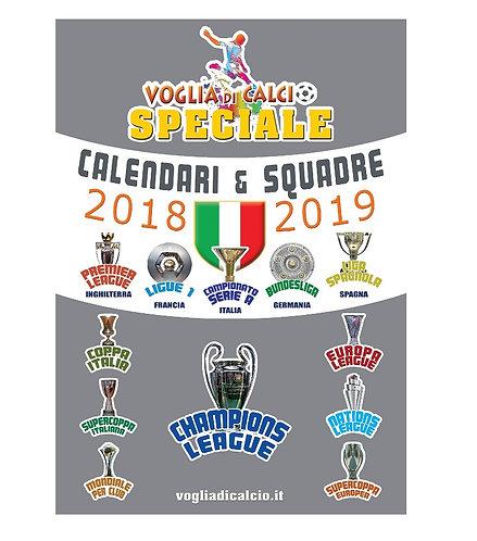 SPECIALE VOGLIA DI CALCIO - Calendario 2018-19