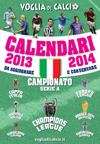 CALENDARIO DA TAVOLO 2013-2014