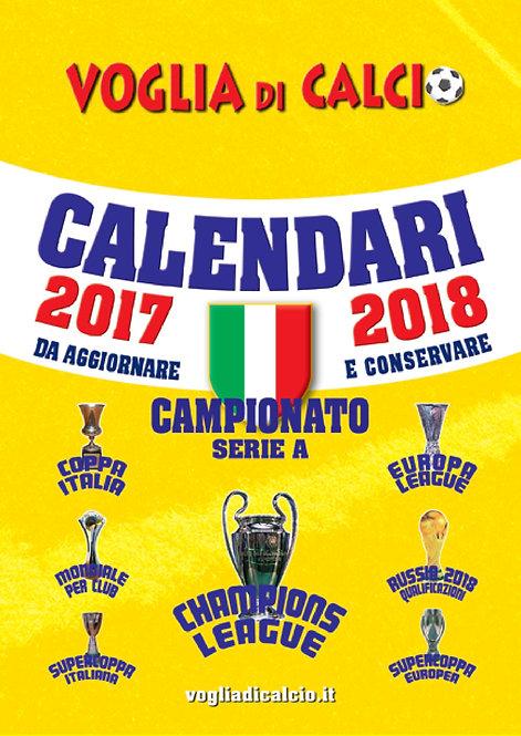 FORMATO DA TAVOLO - Calendario 2017-18