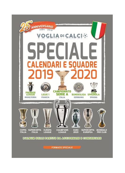 Calendario Italia Mondiali 2020.Speciale Voglia Di Calcio Calendario 2019 20