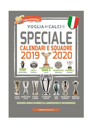 Calendario Campionato Mondiale Di Calcio 2020.Speciale Voglia Di Calcio Calendario 2019 20
