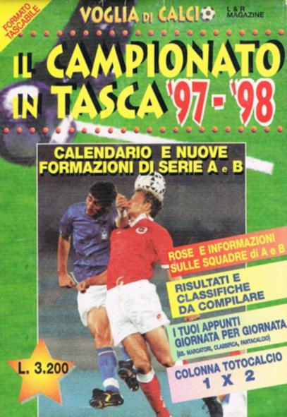 CALENDARIO DA TAVOLO 1997-1998