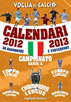 CALENDARIO DA TAVOLO 2012-2013