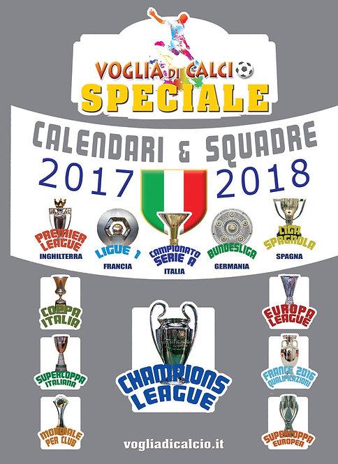SPECIALE VOGLIA DI CALCIO - Calendario 2017-18