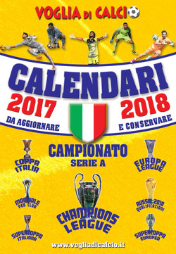 CALENDARIO DA TAVOLO 2017-2018