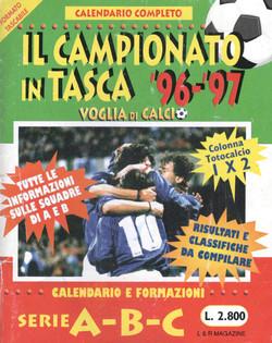 CALENDARIO DA TAVOLO 1996-1997