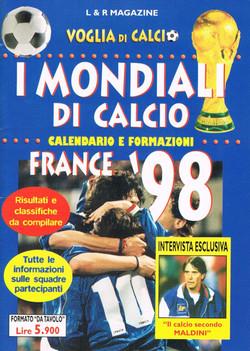 EUROPEI DI CALCIO - Francia 1998
