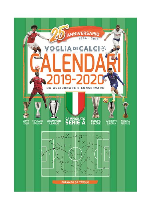 Mondiali Calcio 2020 Calendario.Formato Da Tavolo Calendario 2019 20