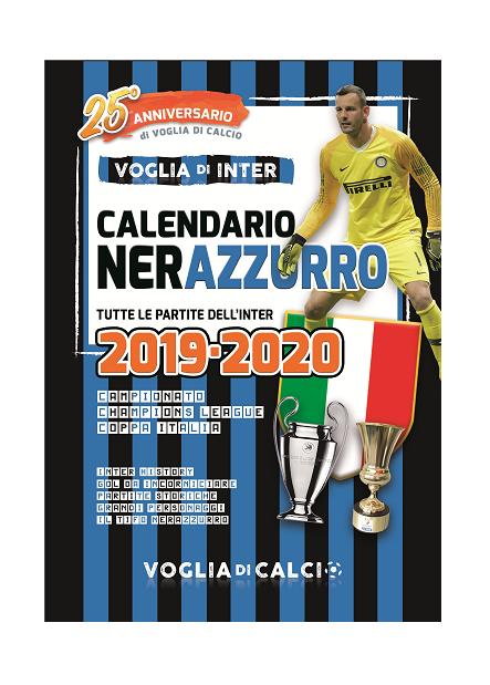 I calendari 2019-20 dell'Inter