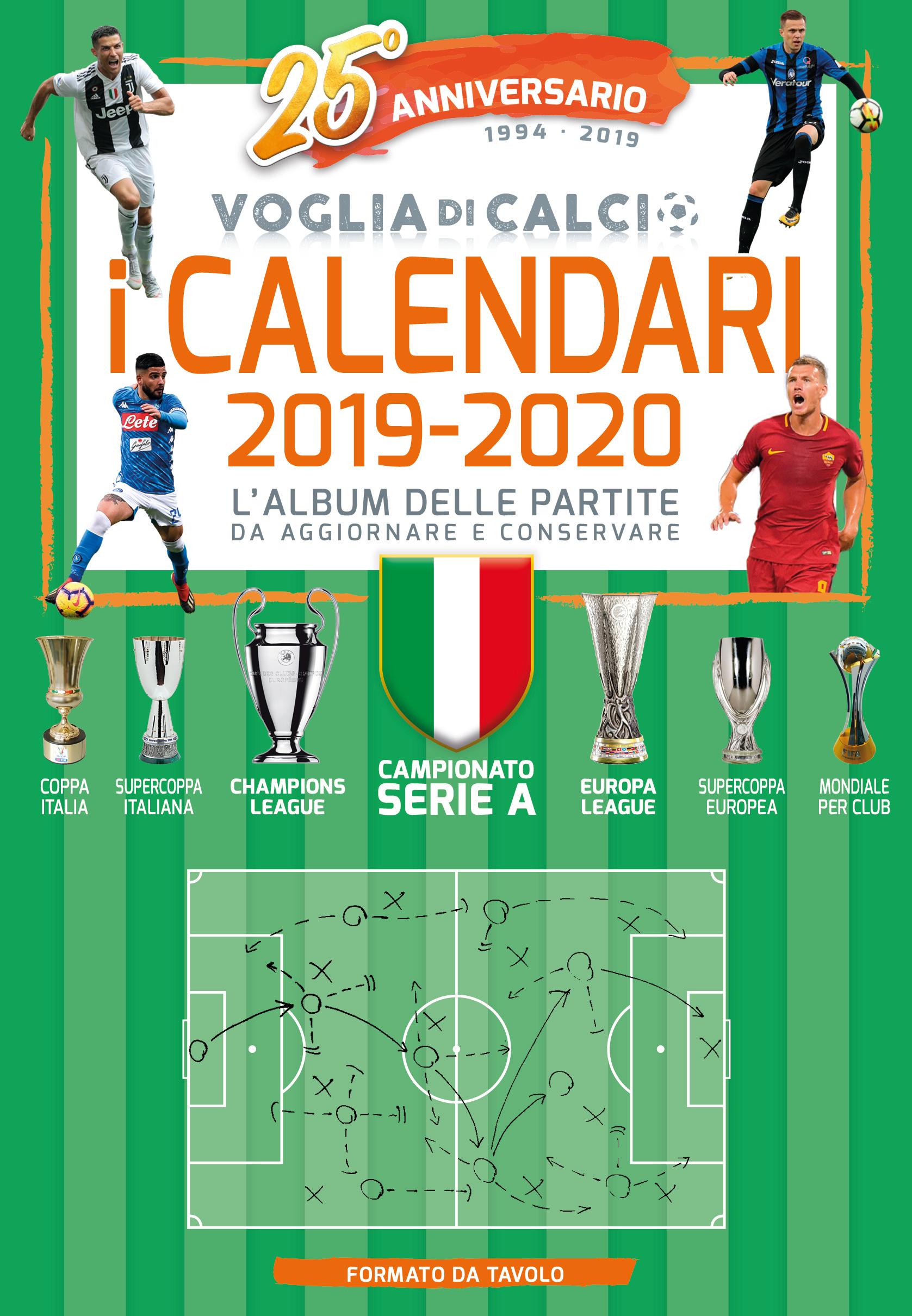 CALENDARIO DA TAVOLO 2019-2020