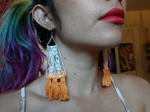 Vintage Trim Earrings