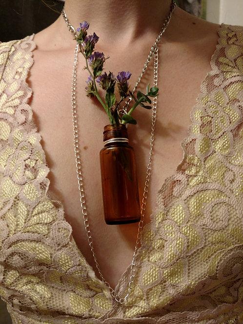 Flower Vase Necklace