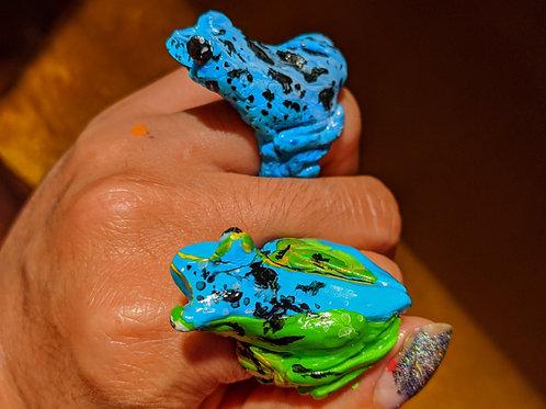 Pet Frog Ring