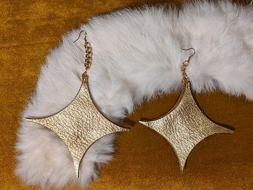 Baddy Leather Earrings
