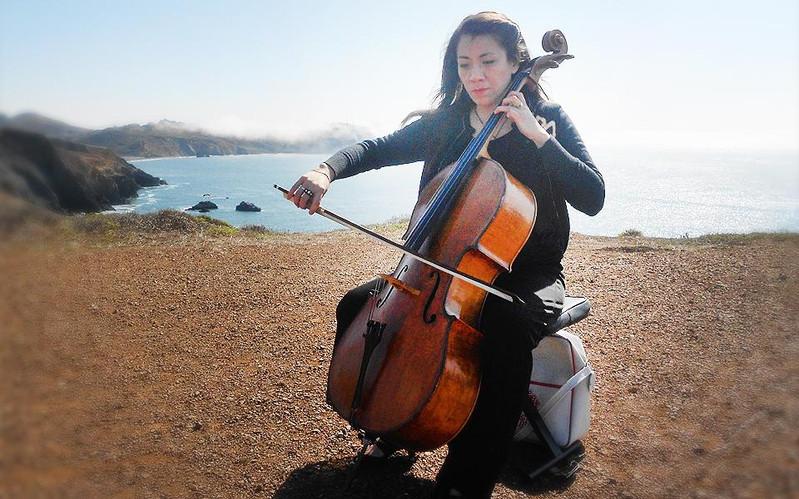 Cello by the Sea Carol Ann Strings Attac