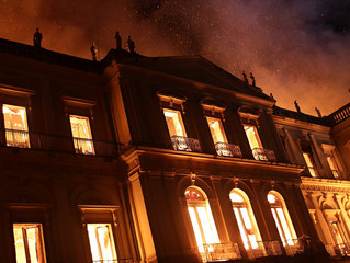 Scientific artifacts are lost in the fire that engulfed Brazil's National Museum, and some local