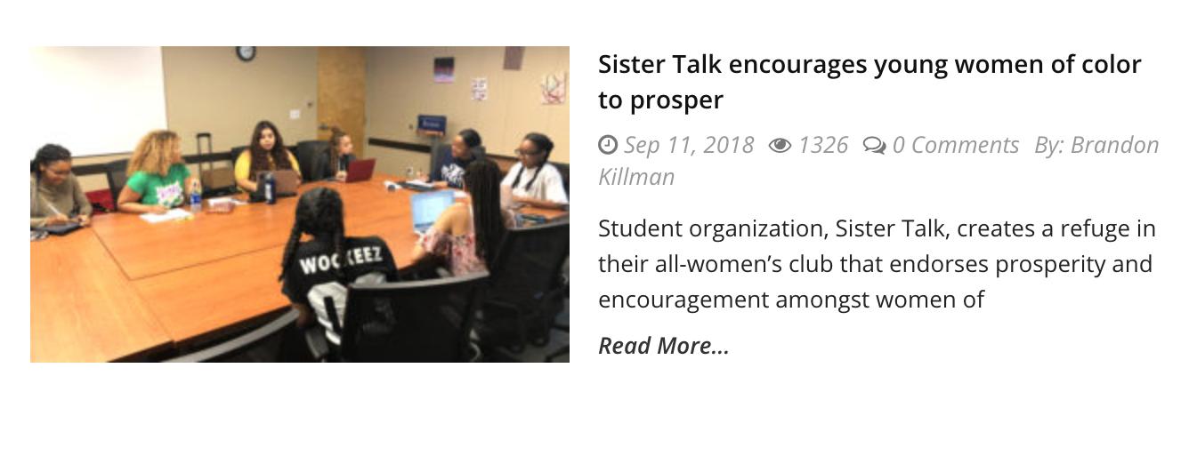 https://dailytitan.com/2018/09/sister-talk-encourages-women-color/