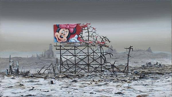 Minnie Mouse Billboard