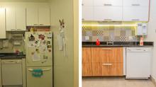 Antes e Depois - Cozinha da Família