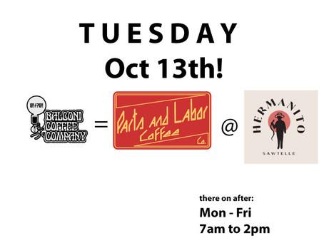 Tuesday Tuesday Tuesday!